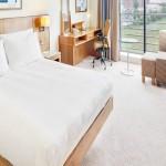 Hilton Dublin Airport bedroom