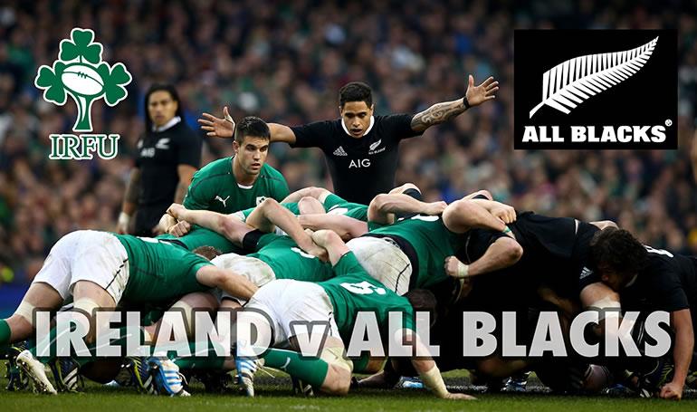 ireland v all blacks